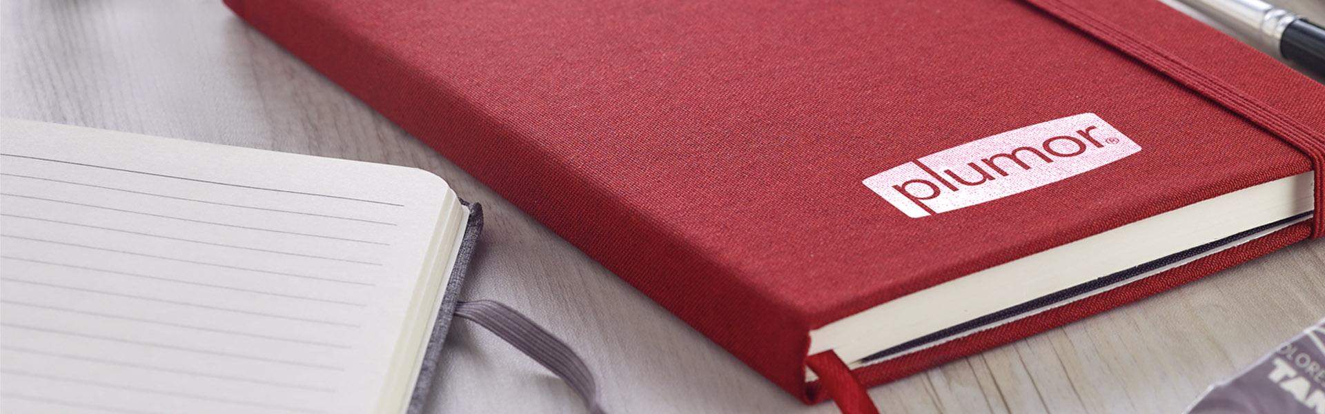 Notizbuch mit Logodruck als Werbeartikel